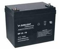 Аккумуляторная батарея SUNLIGHT SP12-75, 12В 75 А*ч