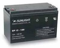 Аккумуляторная батарея SUNLIGHT SP12-100, 12В 100 А*ч