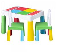 Комплект мебели Tega Multifun 1+2 Blue 2 стульчика, фото 1