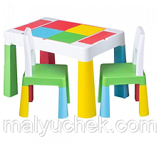Комплект мебели Tega Multifun 1+2 Blue 2 стульчика