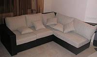 Диван угловой с пуфиками, мягкая мебель для дома по ценам производителя