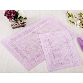 Набор ковриков Irya - Superior лиловый 60*90+40*60