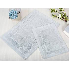Набор ковриков Irya - Superior голубой 60*90+40*60