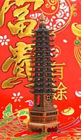 Пагода Фен-Шуй (девять ярусов), в медном цвете (h=26 см.)