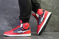 Мужские кроссовки на зиму красные Tourissimo Fila 6518