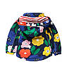 Куртка для девочки Цветы Meanbear, фото 2