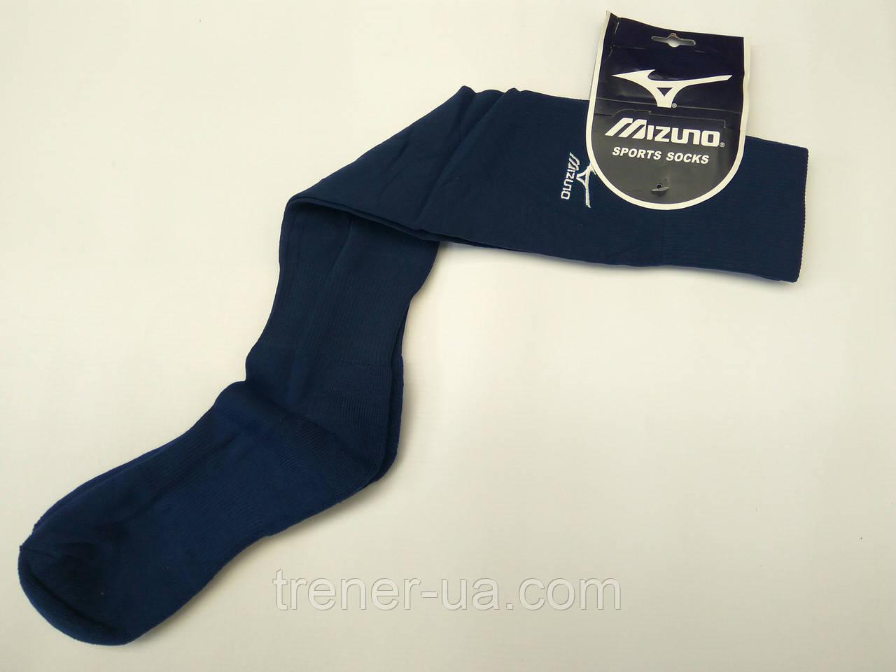Футбольні гетри в стилі Mizuno темно-сині 40-45