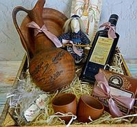 """Необычный подарок для женщины - набор """"С Украиной в сердце"""""""