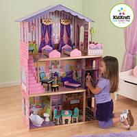 Кукольный деревянный домик KidKraft My Dream Mansion Dollhouse 65082