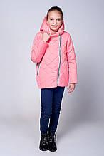 Детская весенняя красивая стеганная курточка 98-116.