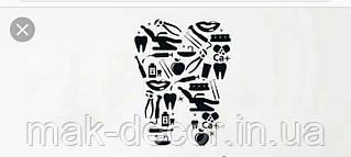 Виниловая наклейка  - зуб с приборов