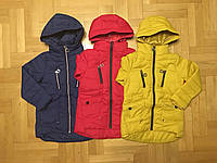 Демисезонная легкая куртка для девочек Grace 134 140 146 152 158