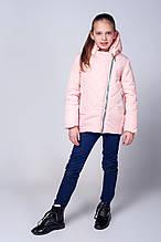 Детская весенняя модная стеганная куртка 116-134.