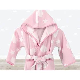 Халат детский Irya - Cloud розовый 7-8 лет