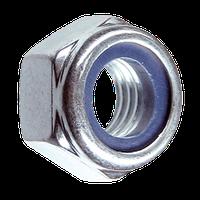 Гайка шестигранная самоконтрящая М10 (упаковка - 200 шт)