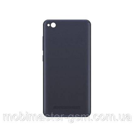 Задняя крышка Xiaomi Redmi 4A черная, фото 2