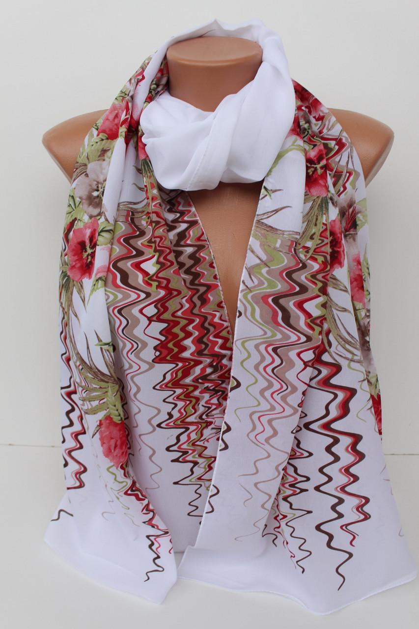 """Шифоновий шарф """"Шері"""" 171-3"""
