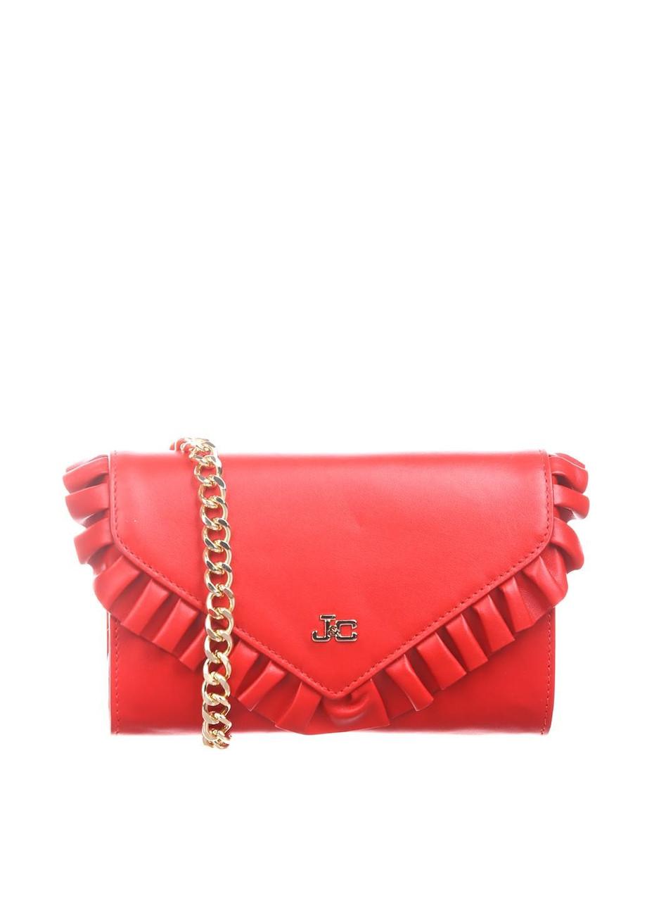 (Уценка) Сумка женская J&C Jackyceline цвет красный размер - арт (УЦ)F16B511-01-025