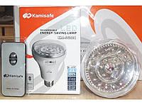 Светодиодная энергосберегающая лампа с аккумулятором KM-5602c , 21 светодиода