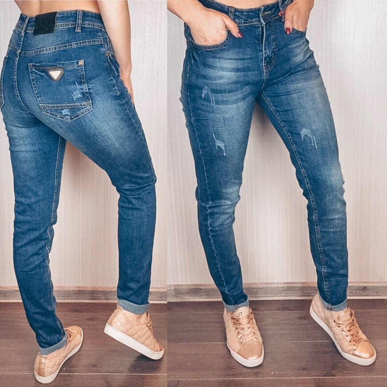 c2a8c2f8925 Женские джинсы Американки с потертостями - купить по лучшей цене в ...