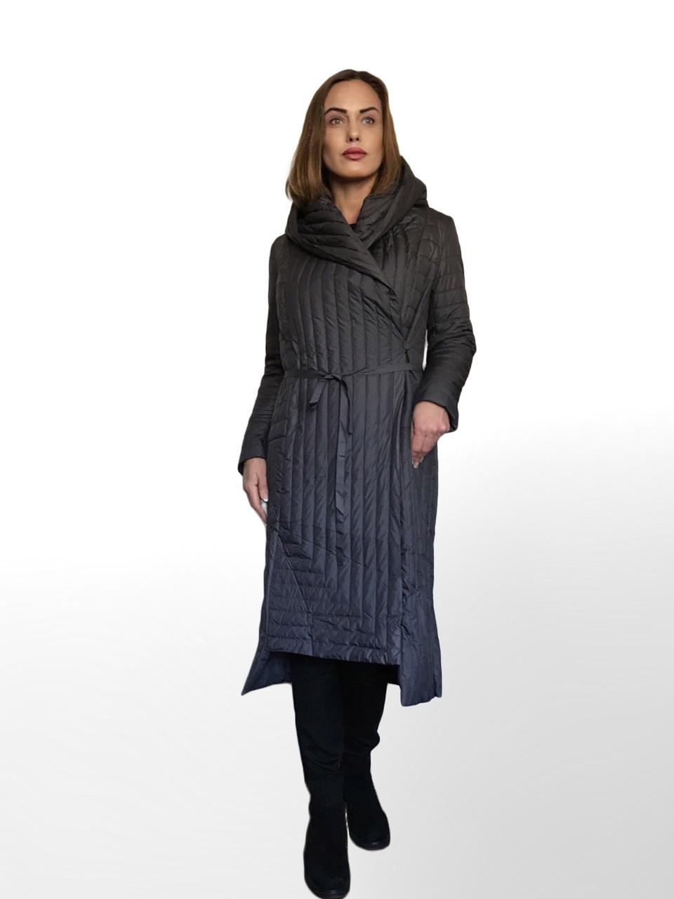 ТРЕНД - Дизайнерское Фабричное Пальто-плащ TONGCOI. Гарантия высокого качества и стиля! Р-ры 42-44