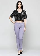 Джинсы женские DIESEL цвет светло-фиолетовый размер 27/32 арт 00CZ570BAIM
