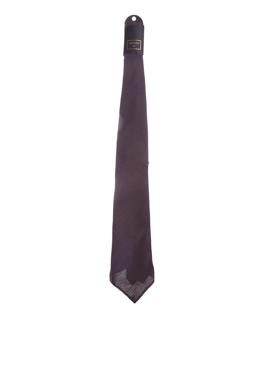 Галстук мужской Scotch & Soda цвет баклажанный размер Универсальный арт 77281