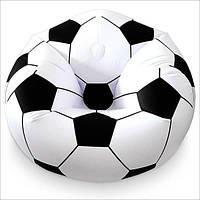 Виниловое надувное кресло футбольный мяч Intex 68557