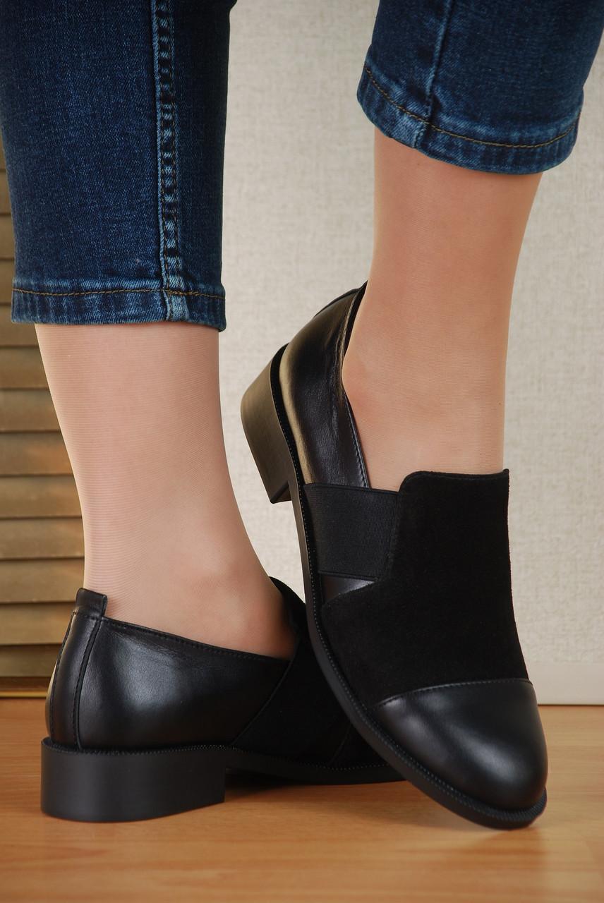 171cd603dce8 Туфли женские Турция Украина натуральная кожа/замша, цвет черный, цена от  производителя -