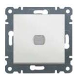 Светорегулятор (диммер) нажимной 300 Вт Lumina-2, Hager