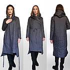 ТРЕНД - Дизайнерское Фабричное Пальто-плащ TONGCOI. Гарантия высокого качества и стиля! Р-ры 42-58, фото 9