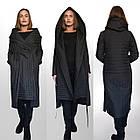 ТРЕНД - Дизайнерское Фабричное Пальто-плащ TONGCOI. Гарантия высокого качества и стиля! Р-ры 42-58, фото 8