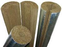 Цилиндр базальтовый Ø48/40 фольгированный (скорлупа минераловатная)