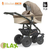 Коляска универсальная Kinder Rich - - Fox Flax (Лен) Brown