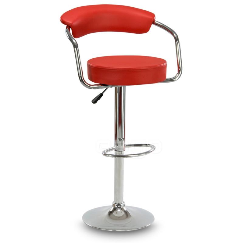 Барный стул Hoker SOHO. Цвет красный.