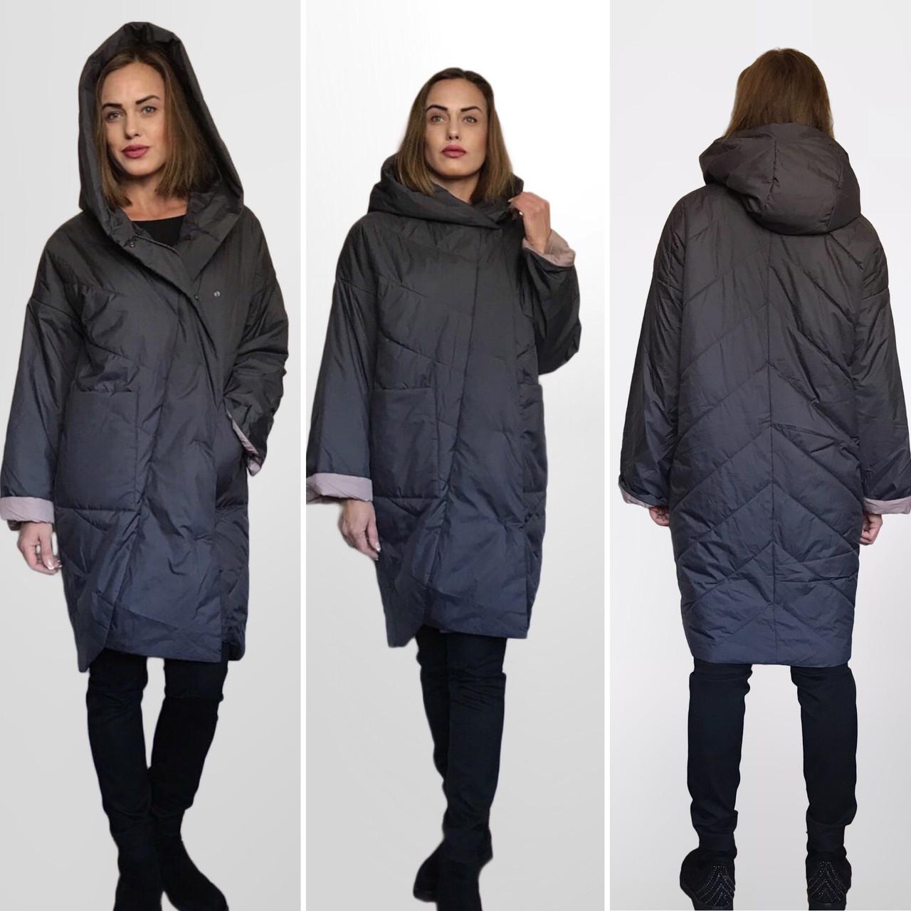 ТРЕНД - Дизайнерское Фабричное Пальто-плащ TONGCOI. Гарантия высокого качества и стиля!