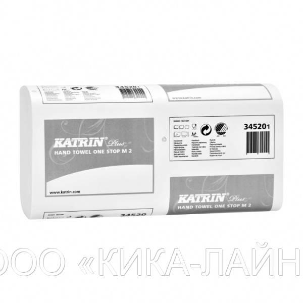 Полотенца бумажные Katrin  Plus One stop M 2 34520 (145 салфеток)