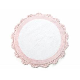 Коврик Irya - Doreen розовый 90*90