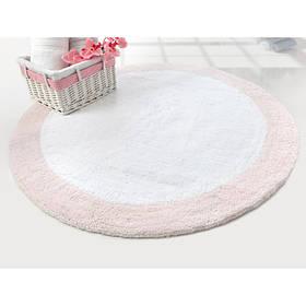 Коврик Irya - Tully розовый 90*90