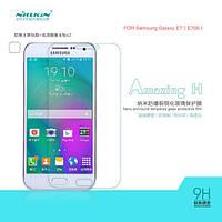 Защитное стекло для Samsung Galaxy E7 E700 - Nillkin Glass Screen (H)