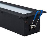 Z-LED VLS-2000 dim 100W 12000Lm (40х60х2035) диммируемый врезной линейный LED-светильник