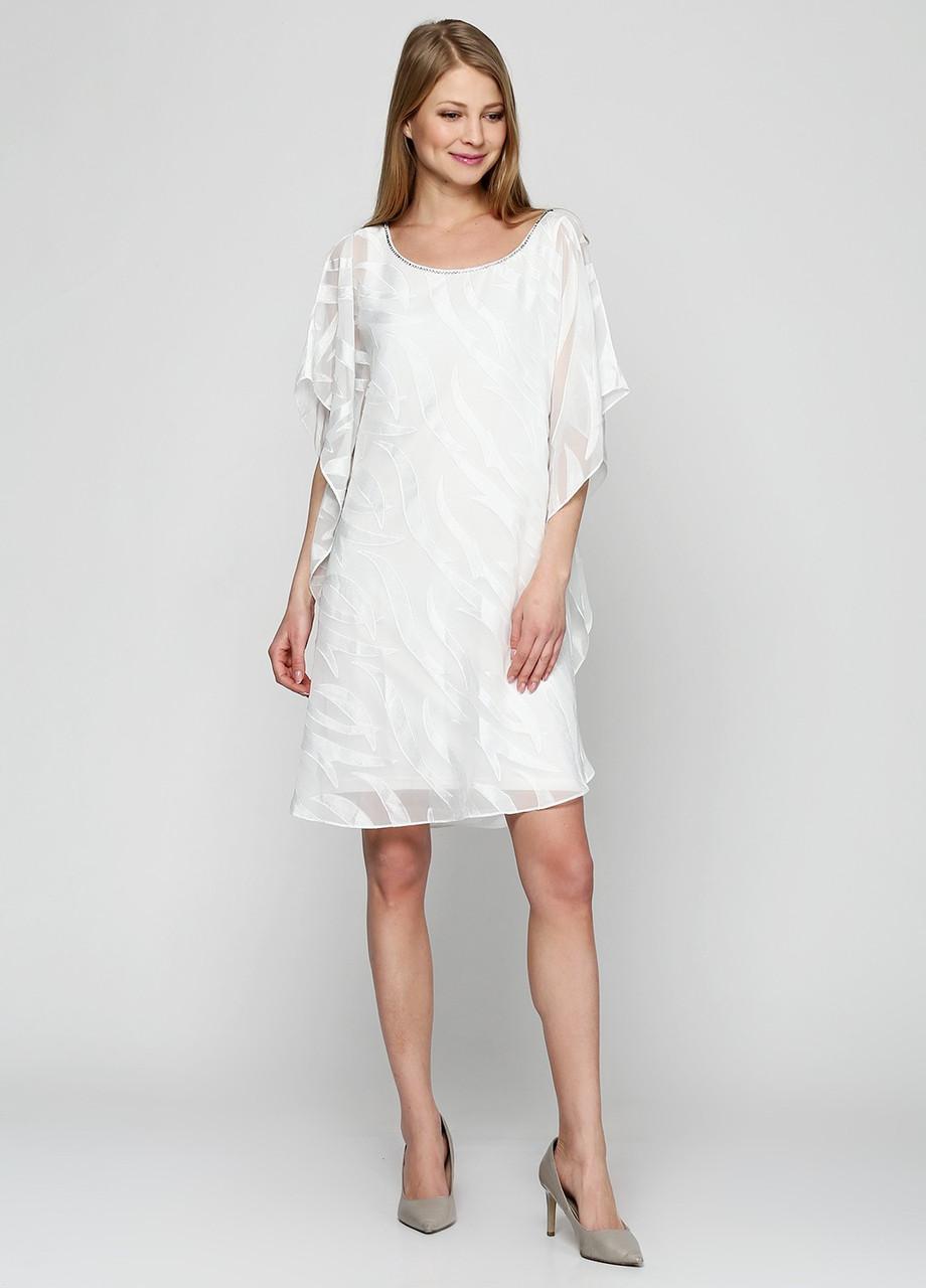 Платье женское Vera Mont цвет белый размер 34 арт 2186/3693, фото 1