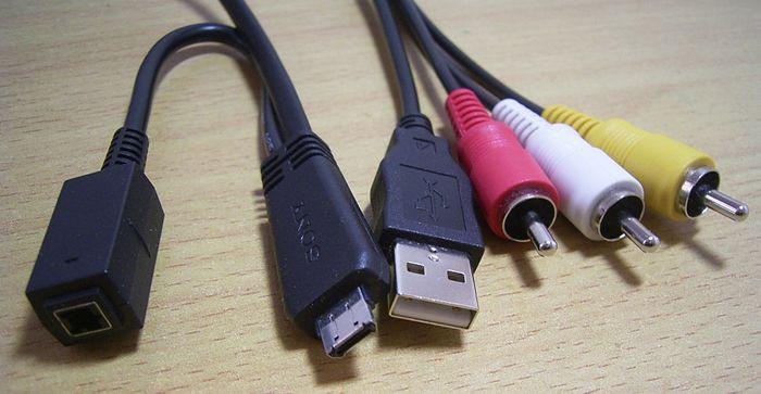USB / AV / DC кабель Sony VMC-MD3