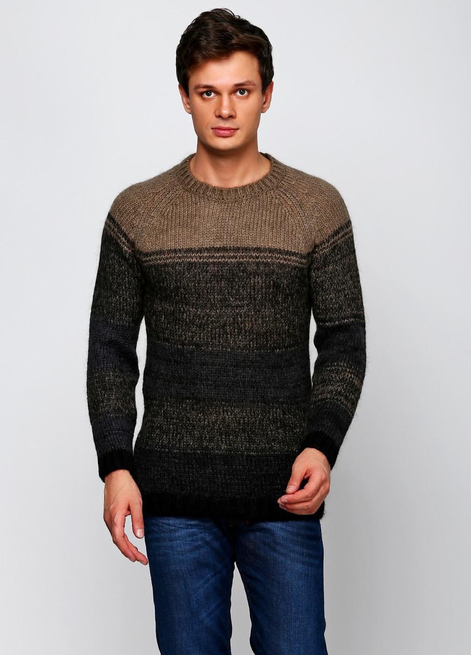 Свитер мужской DIESEL цвет серо-черный размер S арт 00S8DM-RKADE-94G