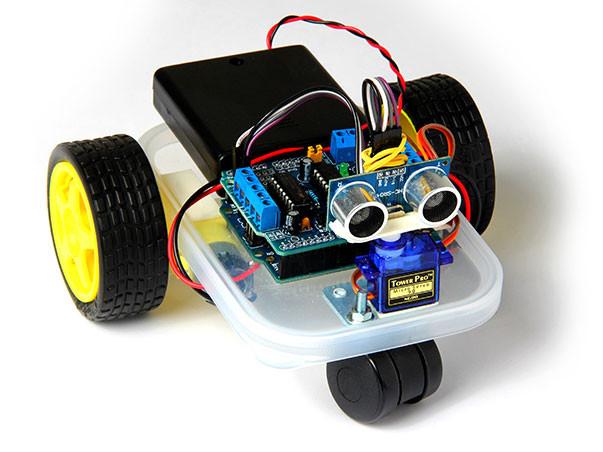 Arduino Mini Robot - Instructablescom