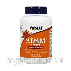 NOW Мужские витамины Adam (90 softgels)