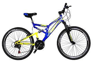 """Горный велосипед двухподвесник 26"""" Titan GHOST (Shimano, моноблок), фото 2"""