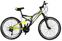 """Горный велосипед двухподвесник 26"""" Titan GHOST (Shimano, моноблок)"""