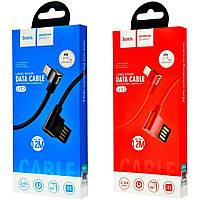 Hoco U37 Long Roam Lightning Cable (1.2m) (2 цвета), фото 1