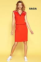 Платье Saga красного цвета, Zaps, фото 1